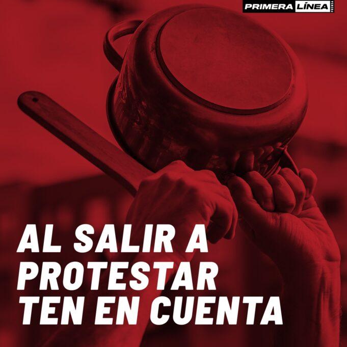 Consejos para la protesta